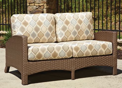 Atlantis Loveseat in Mocha