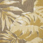 Tropical Canvas Beige Fabric