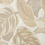 Tropical Palm Beach Beige Fabric