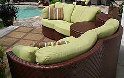 Infinity 3pc sectional-back