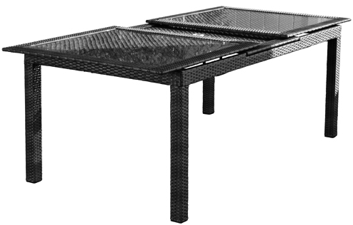 Manhattan Extension Table - Open