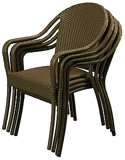 Anacara Restaurant-Cafe-Stacking-Chair