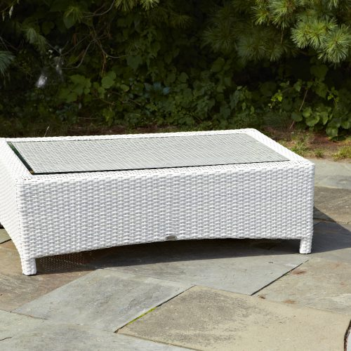 Atlantis Coffee Table in Parchment