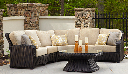 Carlysle 3pc Loveseat Sectional