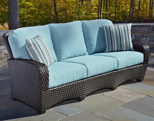 Carlysle sofa mink weave