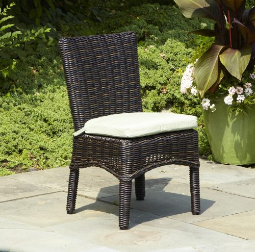 mariner sidechair in bark