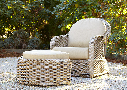 Mariner Lounge Chair with Ottoman