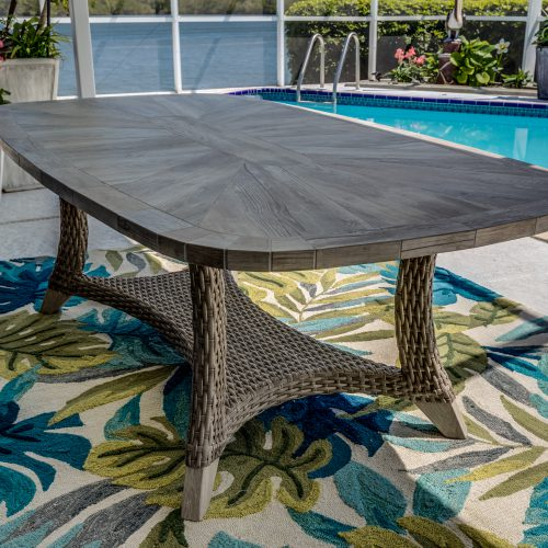 Scottsdale Oval Dining Table