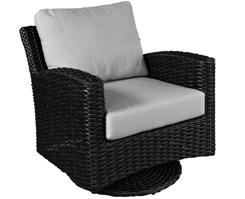 Manhattan Cane Swivel Glider