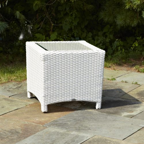 Atlantis Parchment End Table