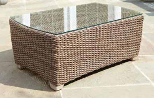 Carlysle coffee table Dune weave