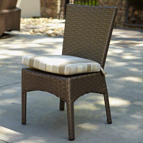 Atlantis Side Chair in Mocha